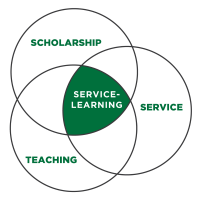 Service Learning, Scholarships, Teaching