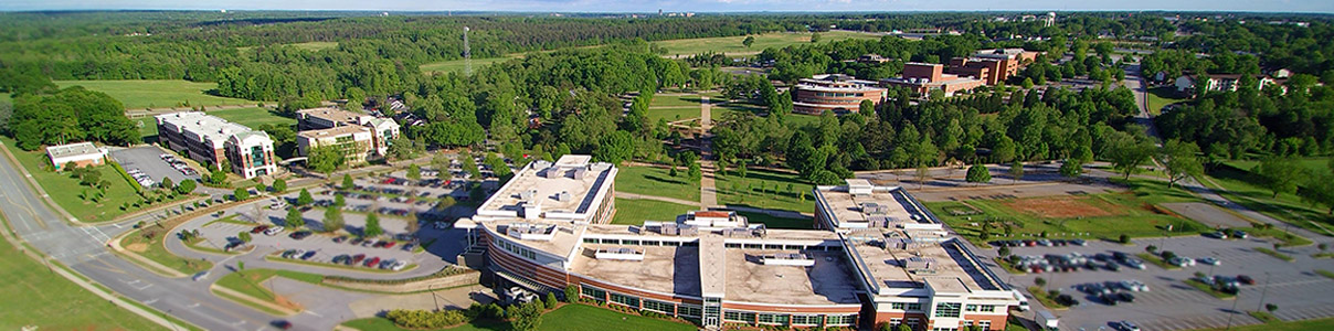 Arial View of USC Upstate