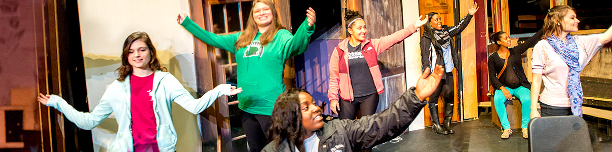 The Upstate theatre department offers major concentrations in performance and production