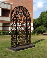 Gothic Gate Sculpture