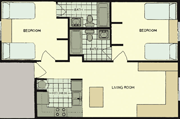 The Villas Floor Plan