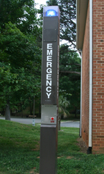 Emergency Call box - Stanchion type standalone phone