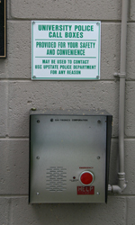 Emergency Call Boxes - Wall Mount Phone