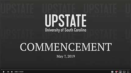 May Commencement Ceremony on YouTube