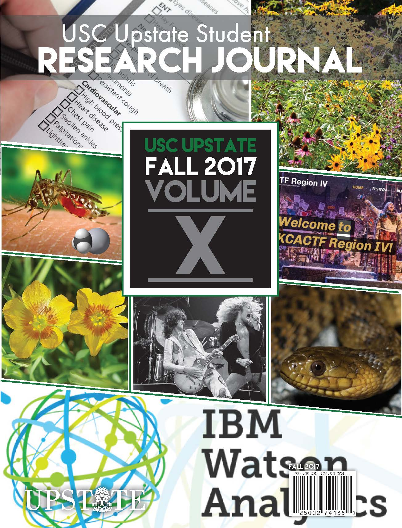 Fall 2017 USC Upstate Student Research Journal