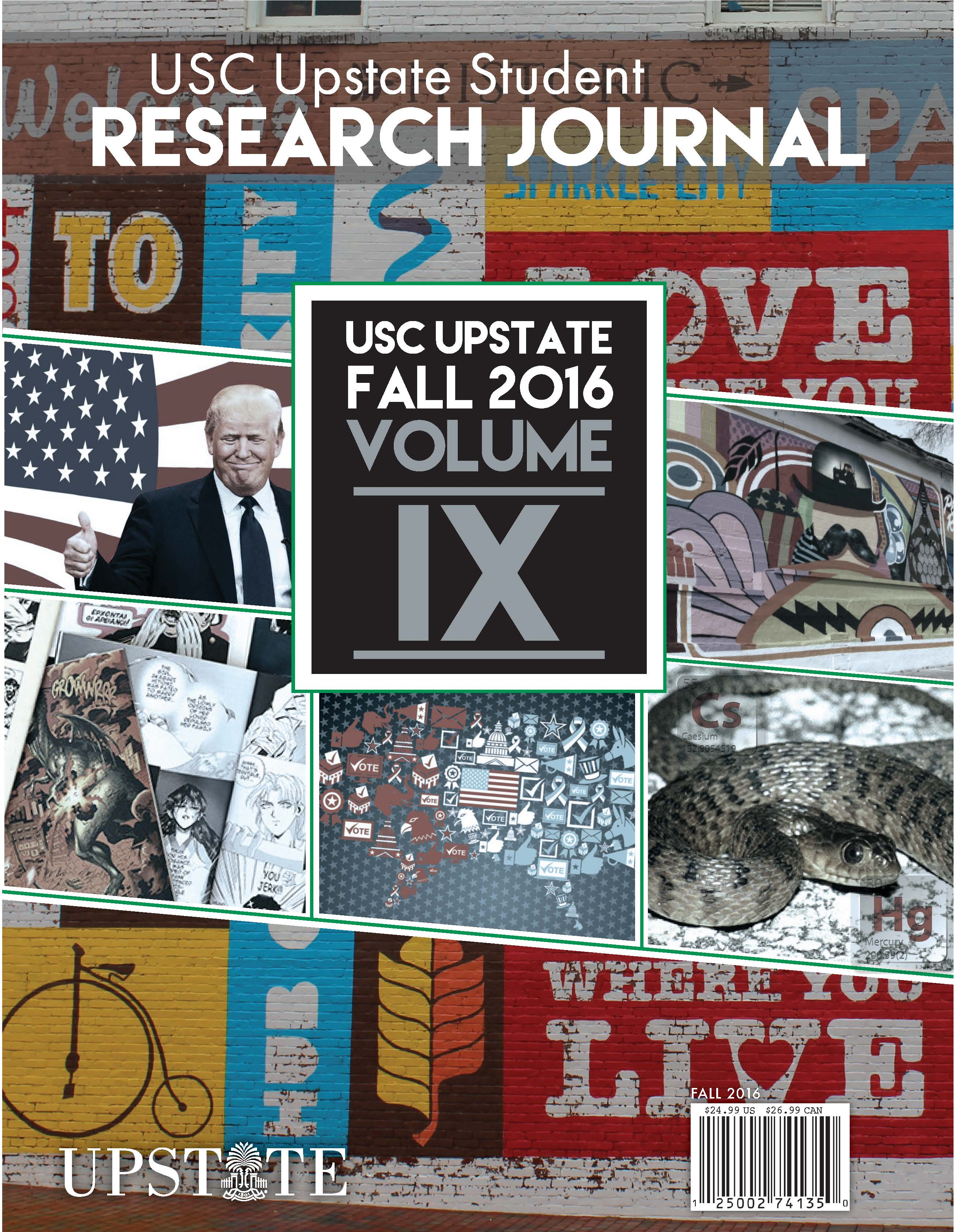 Student Research Journal Volume 9